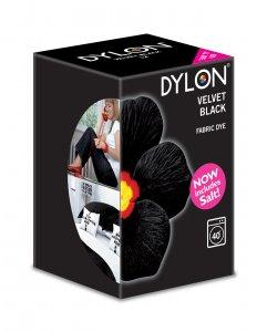 Dylon Washing Machine Dye Velvet Black 350g
