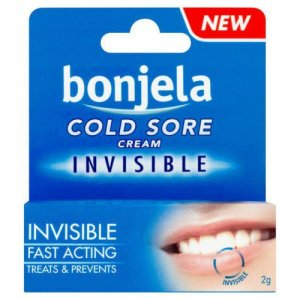 Bonjela Cold Sore Cream Invisible 2g