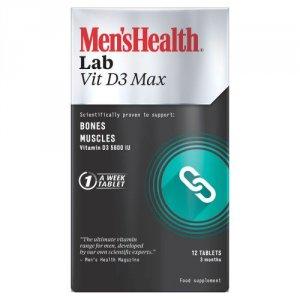 Men's Health Lab Vit D3 Max Tablets Pack of 12