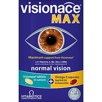 Visionace Max Tablets/Capsules Pack of 56