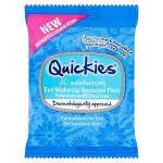 Quickies Eye Make Up Remover Pads Pack of 30