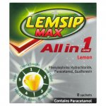 Lemsip Max All in One Lemon Sachets Pack of 8