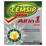 Lemsip Max All in One Lemon Sachets Pack of 8