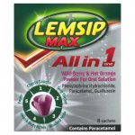 Lemsip Max All in One Wild Berry & Orange Sachets Pack of 8