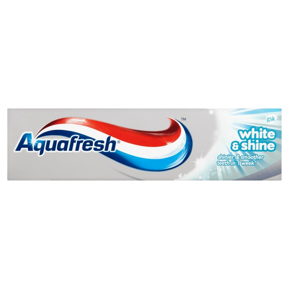 Aquafresh White & Shine Toothpaste 75ml