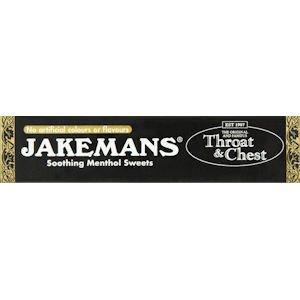 Jakemans Cough Sweets Throat & Chest Menthol 41g