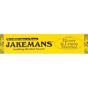 Jakemans Cough Sweets Honey & Lemon Menthol 41g