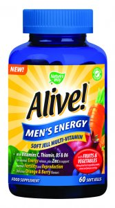 Alive! Men's Energy Soft Jells Pack of 60