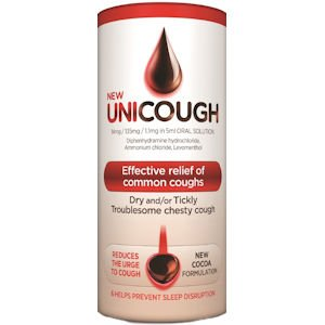 Unicough All in One Cough Solution 150ml