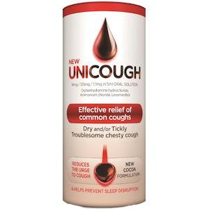 Unicough All in One Cough Solution 300ml