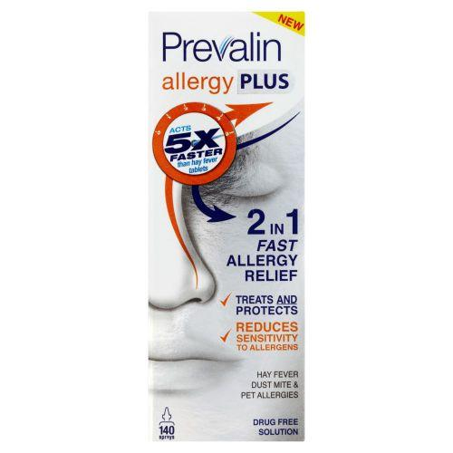 Prevalin Allergy Plus Nasal Spray 20ml