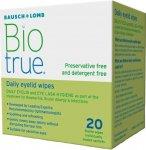 Biotrue Daily Sterile Eyelid Wipes Pack of 20