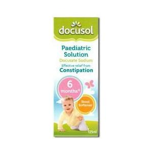 Docusol Paediatric 125ml