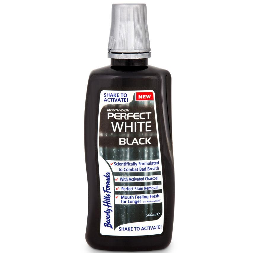 Beverly Hills Formula Perfect White Black Mouthwash 500ml
