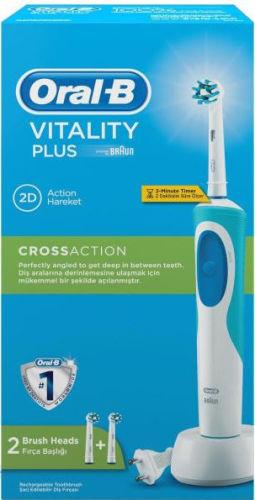 Oral B Vitality Plus Cross Action Rechargeable Toothbrush