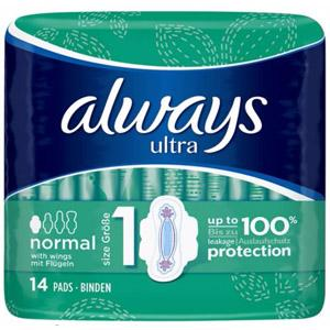 Always Ultra Normal Plus Pack of 14