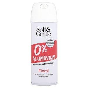 Soft & Gentle Aluminium Free Deodorant Floral 150ml