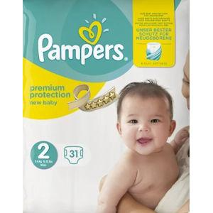 Pampers New Baby Mini Size 2 Pack of 31