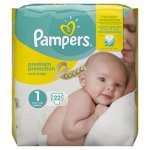 Pampers New Baby Size 1 Pack of 22