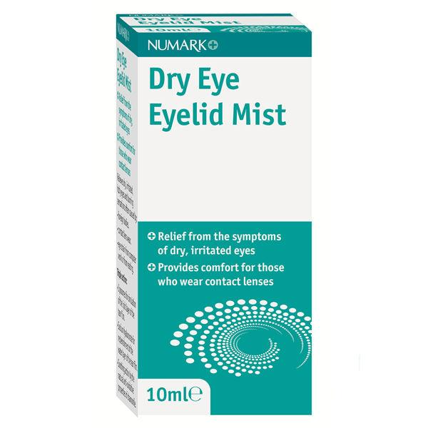 Numark Dry Eye Eyelid Mist 10ml