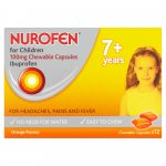 Nurofen for Children Chewable Capsules Pack of 12