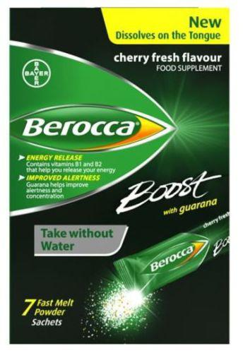 Berocca Boost Fast Melt Powder Sachets Pack of 7