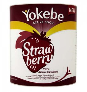 Yokebe Weight Management Shake Strawberry Flavour 450g