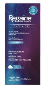 Regaine For Women Once-a-Day Scalp Foam 2 Month Supply