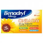 Benadryl Allergy One a Day Tablets Pack of 30