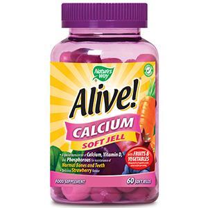 Alive! Calcium Soft Jells Pack of 60