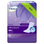 TENA Lady Mini Night Pack of 16