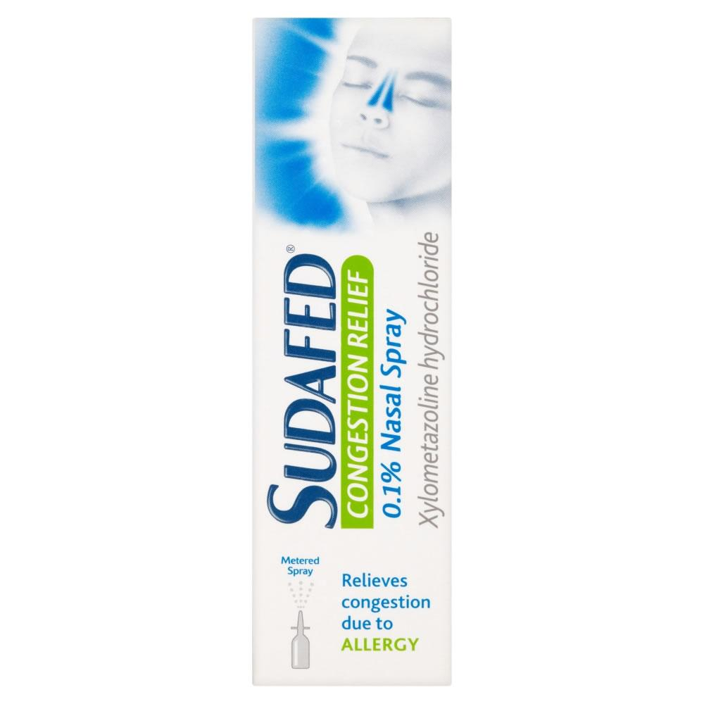 Sudafed Congestion Relief Nasal Spray 10ml