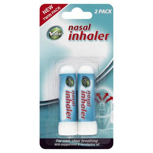 Value Health Nasal Inhaler Pack of 2