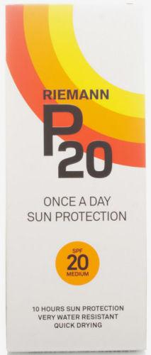 Riemann P20 Sun Filter Lotion SPF20 200ml