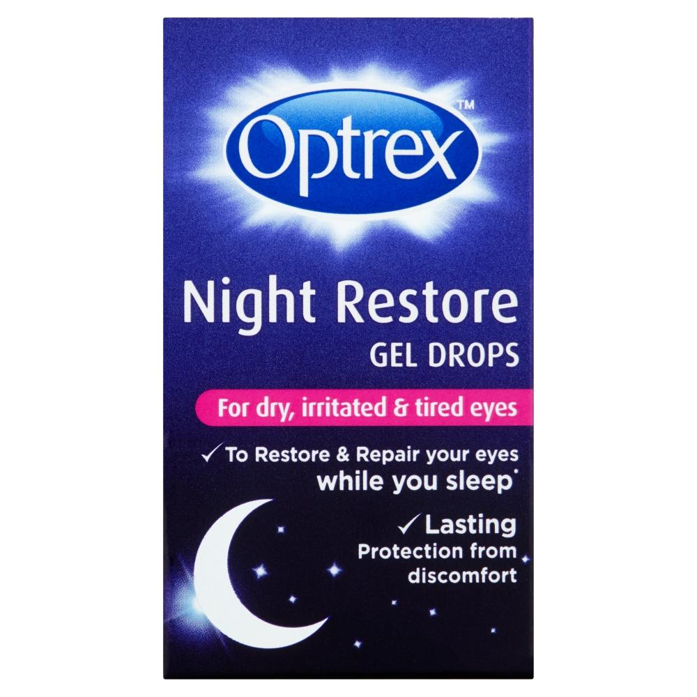 Optrex Night Restore Gel Drops 10ml