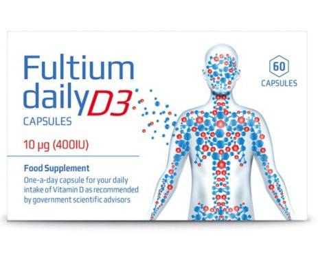Fultium Daily D3 Capsules Pack of 60