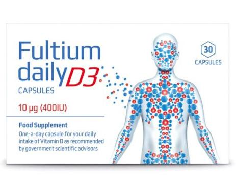 Fultium Daily D3 Capsules Pack of 30