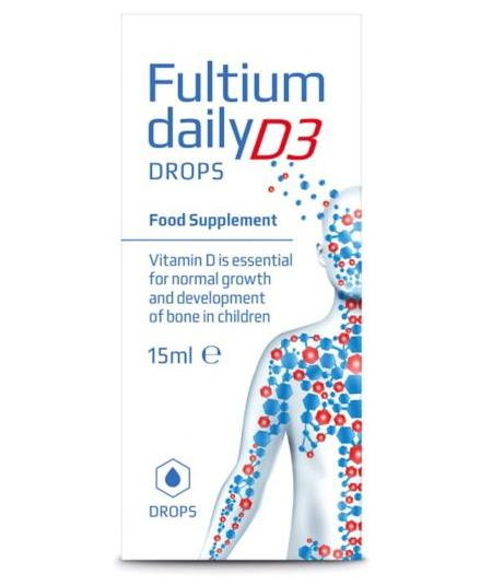 Fultium Daily D3 Drops 15ml