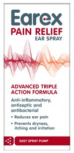 Earex Pain Relief Ear Spray 15ml