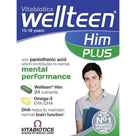 Wellteen HIm Plus Tablets/Capsules Pack of 56