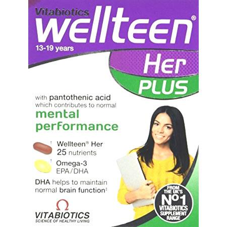 Wellteen Her Plus Tablets/Capsules Pack of 56
