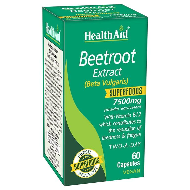 HealthAid Beetroot Extract Capsules Pack of 60