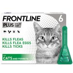 Frontline Plus Spot On Cat Pipettes Pack of 6