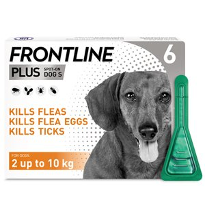 Frontline Plus Spot On Small Dog Pipettes Pack of 6