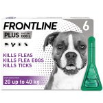 Frontline Plus Spot On Large Dog Pipettes Pack of 6