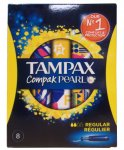 Tampax Compak Pearl Regular Pack of 8