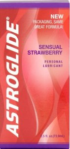 Astroglide Sensual Strawberry Lubricant 73.9ml
