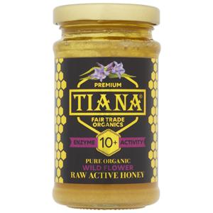 Tiana Enzyme Activity 10+ Raw Active Wild Flower Honey 250g
