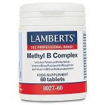 Lamberts Methyl B Complex Tablets Pack of 60