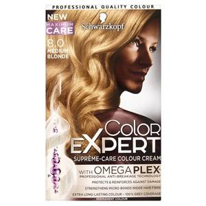 Color Expert Hair Colourant Medium Blonde 8.0